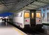 Train RAP 311, Santa Apolonia station, Lisbon,Tues 24 May 2016 2.  Passengers board.