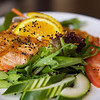 Citrus Salmon Salad<br /> <br /> Posana Cafe 25