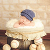 baseball newborn photo