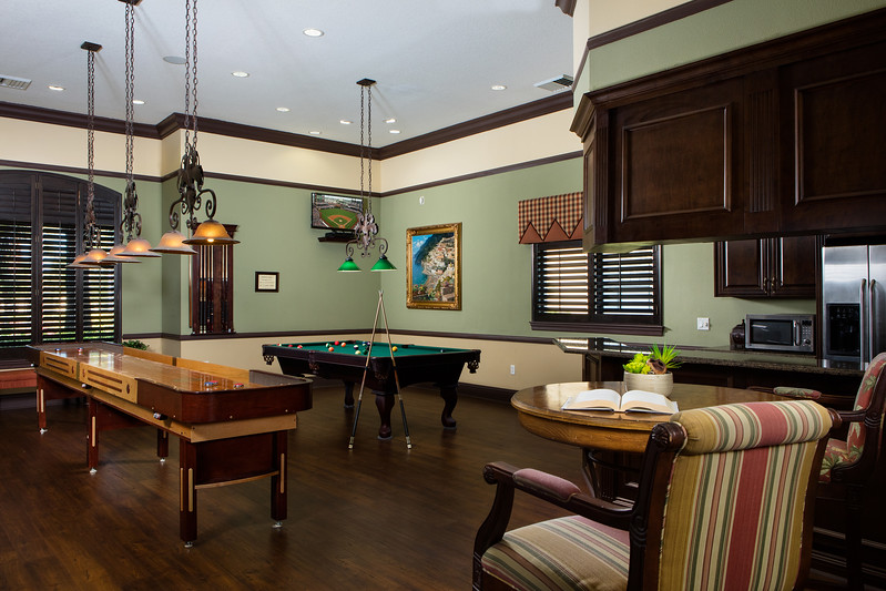 Positano Place Game room