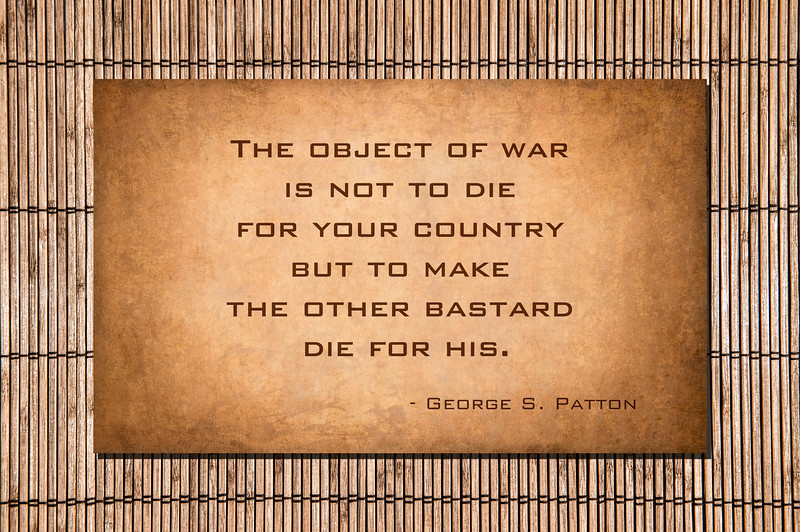 Patton - The object of war