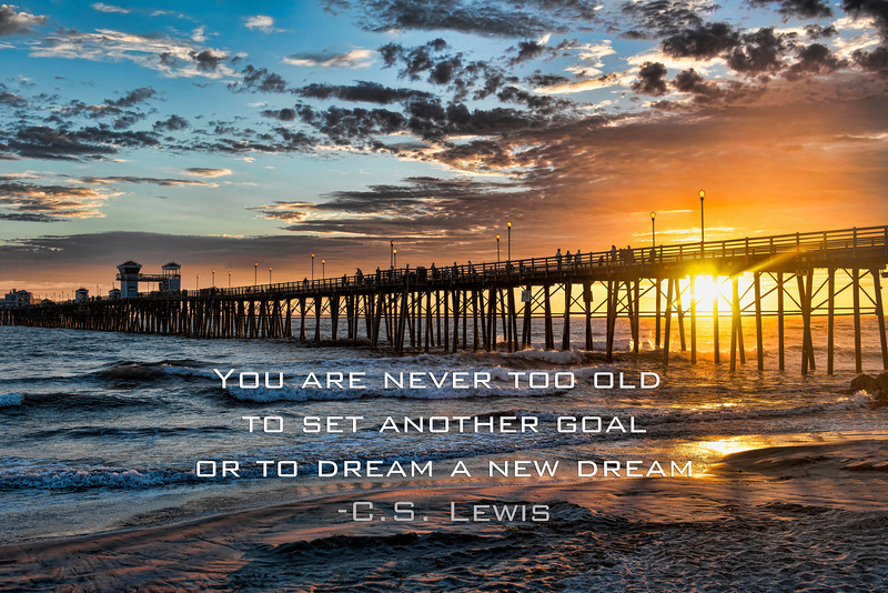 Dream a new dream - C.S. Lewis