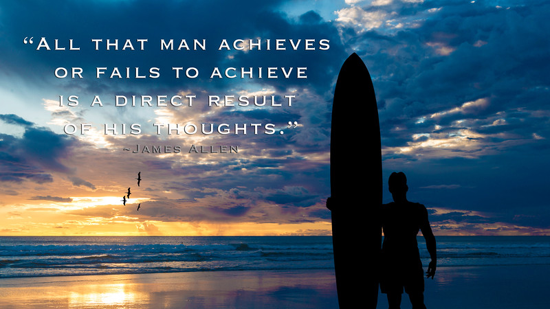 All that man achieves...