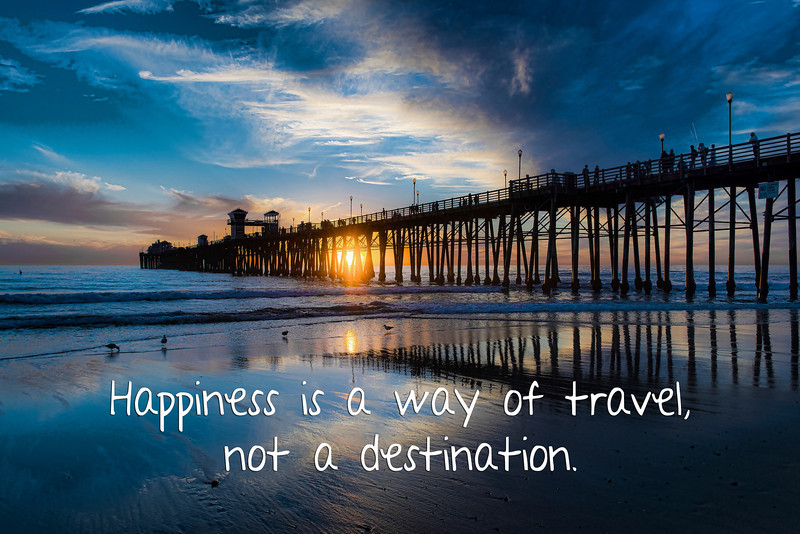 Happiness is a way of travel #2