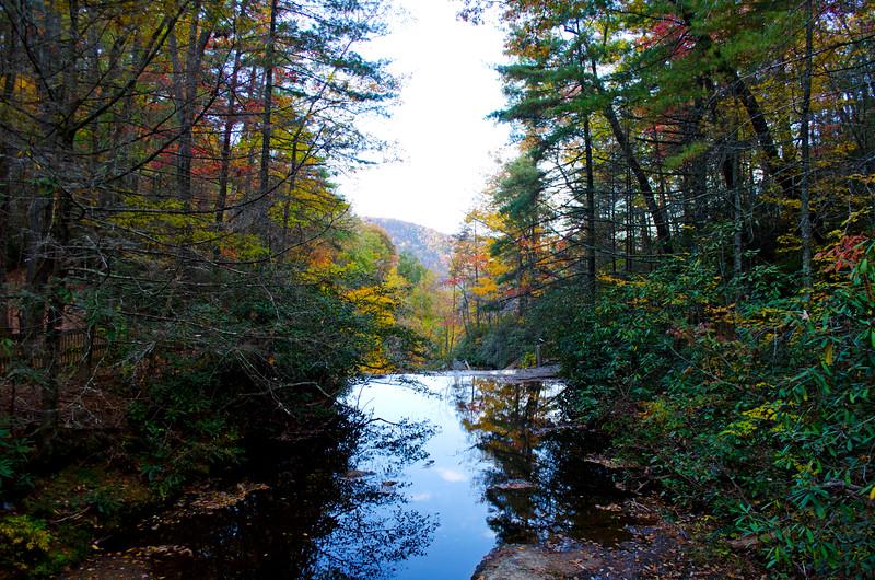 Upper Falls Reflecting Pool
