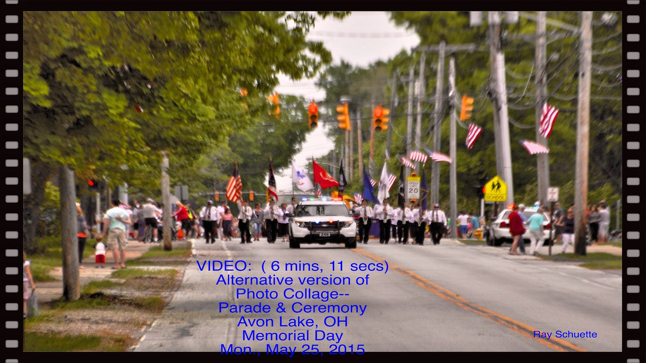 Video:  Parade & Ceremony Photo Collage