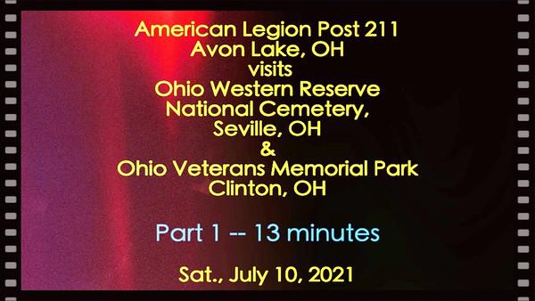 Video:  # 1  -  14 mins - Ohio Western Reserve