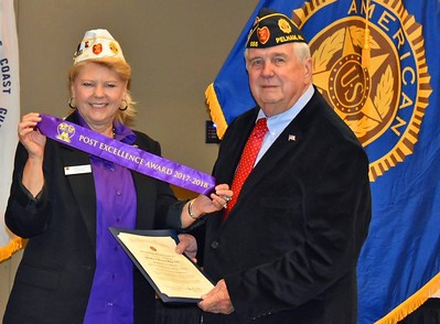 Post 555 receives The American Legion National Post Excellence Award