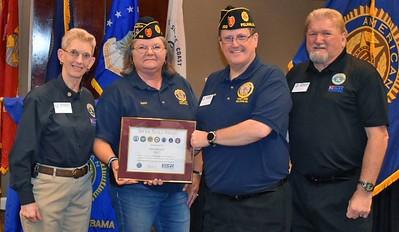 Post 555 2nd Vice Commander Receive ESGR Award