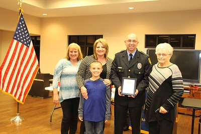 Officer James Carter with Family