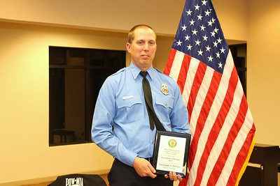 Firefighter of the Year- Christopher McIntyre