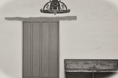 SJ Bautista Mission Door