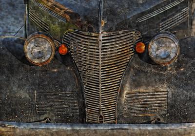 Rusty Car & Sand