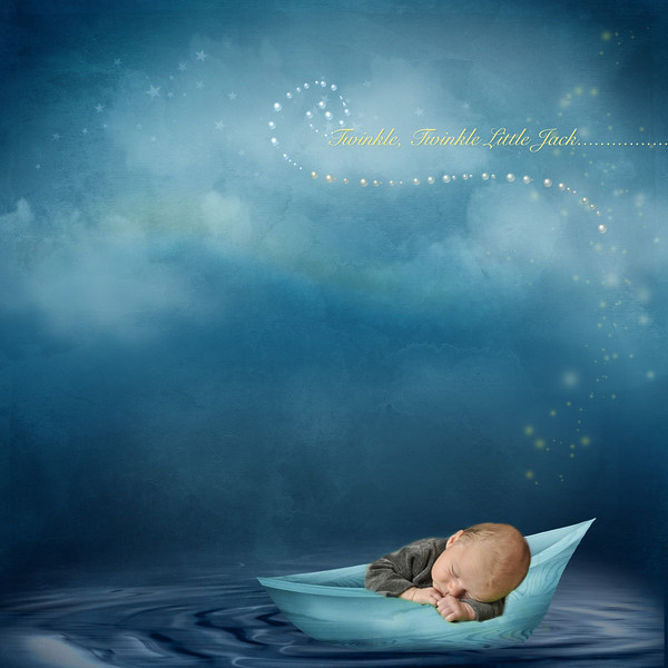 jack sleeping blue