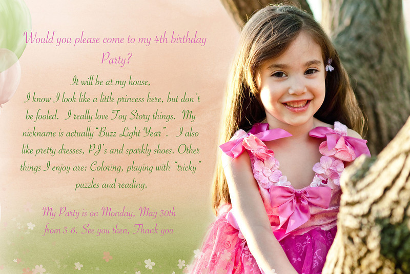bday invitationFB
