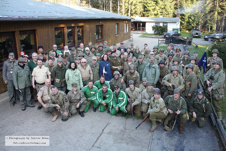 The participants of the convoy came from Czech Republic, Germany, Belgium, Great Britain and U.S.A.