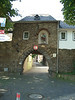 St. Josef'ss gate. The 1st Bn, 347th went through this gate to the boats.