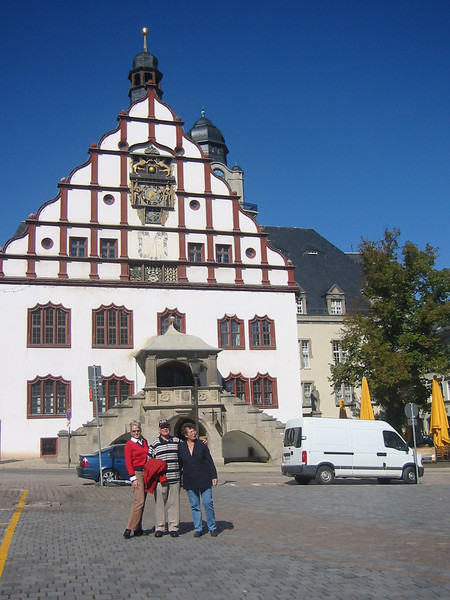The Old Rathaus (Town Hall), Plauen, Germany