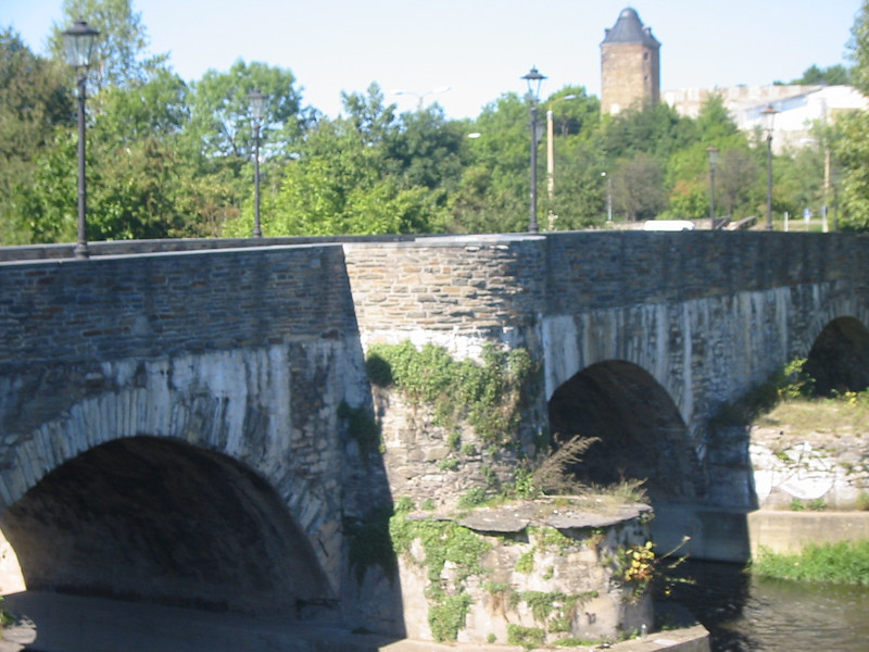 The Elster Bridge (Die Elsterbruecke), Plauen, Germany