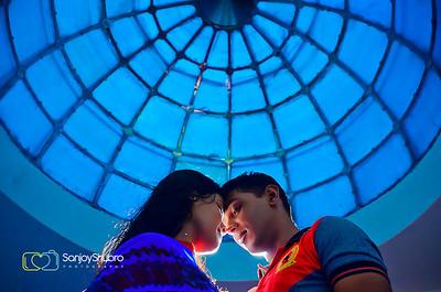 Creative Post Wedding Couple Shoot By Sanjoy Shubro