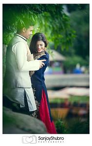 Creative Post Wedding  Shoot In Foy's Lake