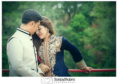 Trendy Look Post Wedding Shoot In Foy's Lake