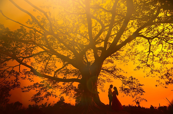 Unique Pre Wedding Shoot By Sanjoy Shubro