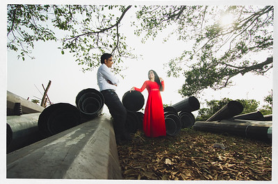 Hill Side Pre Wedding Shoot In Nilgiri