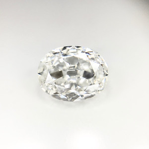 1.02 Antique Cut Oval G-SI1 GIA