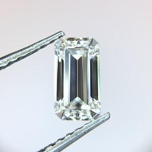 0.61 Emerald Cut H-VS1 GIA