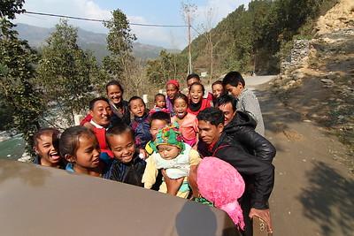 Rasuwa IDPs, Trishuli Gandaki, Nuwakot. February 2016.