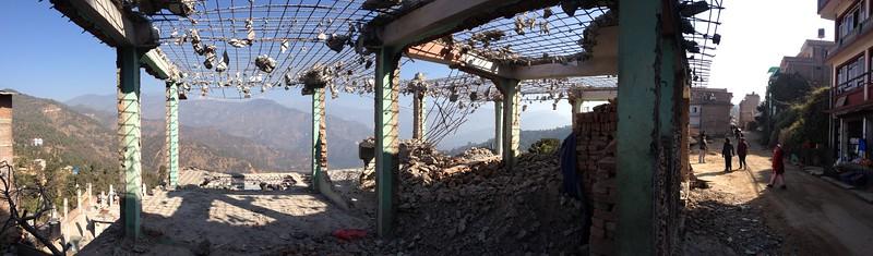 Chautara, Sindhupalchowk. December 2015