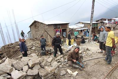 Barpak, Gorkha. January 2016.