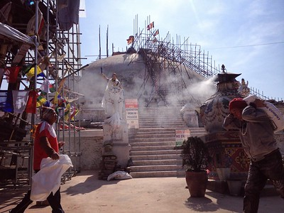Boudhanath Stupa. November 2015