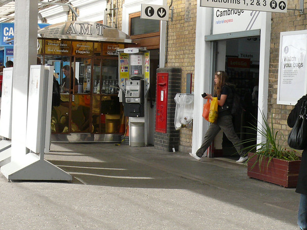 CB1 23 - Cambridge, Railway Station 110907 [location]