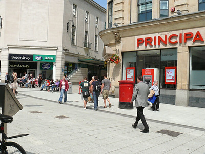 CF10 13 - Cardiff, Queen Street  The Friary 110721 [location]