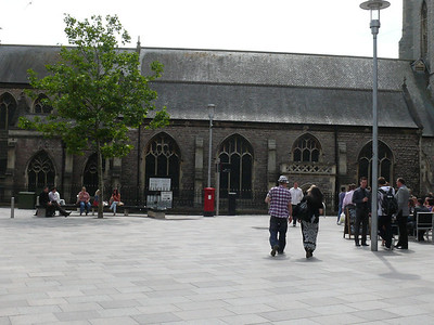 CF10 2 - Cardiff, St John's Street  Working Street 110721 [location]
