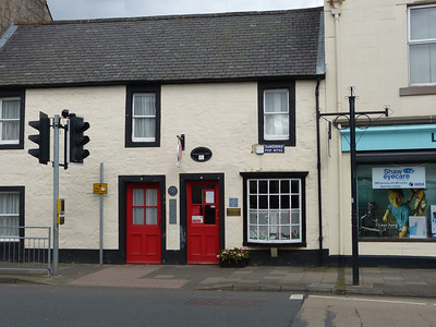 DG4 150 - Sanquhar PO, High Street 161009 [location]