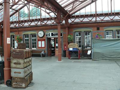 DY10 0 - Kidderminster, Severn Valley Railway Station [OOU] 110719 [location]