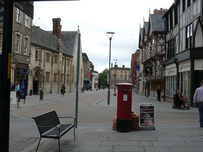 GL1 57 - Gloucester, Southgate Street  Longsmith Street 110718 [location]