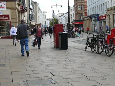 GL50 51 - Cheltenham, High Street  Rodney Road 110407 [location]