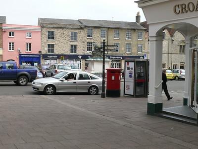 IP33 8237 - Bury St Edmunds, The Traverse  Butter Market 110626 [location]