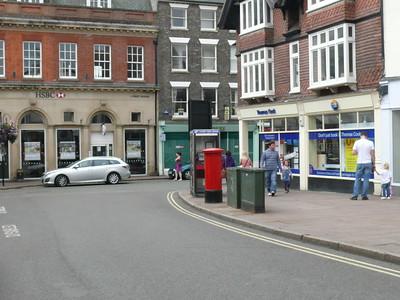 IP33 2005 - Bury St Edmunds, Butter Market 110626 [location]