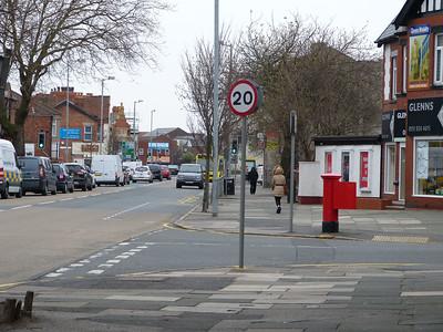 L23 325 - Crosby, Queens Road  Liverpool Road 160401 [location]