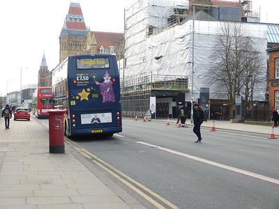 M13 245 - Manchester, Oxford Road  Bridgeford Street 160229 [location]