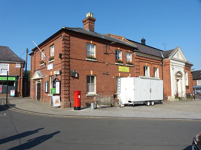 NR11 1100 - Aylsham, Market Place  Penfold Street  160914 [location]