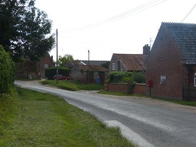 NR22 2201 - Houghton St Giles, Fakenham Road 130827 [location]