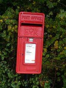 NR34 3418 - Frostenden, A12  Gypsy Lane 121022