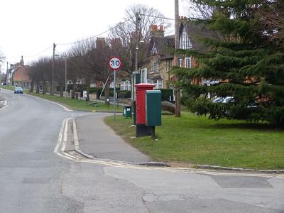 OX20 190 - Woodstock, Shipton Road 130327 [location]