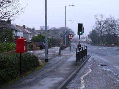 PR6 38 - Chorley, 162 Preston Road [in bus layby] 110101 [location]